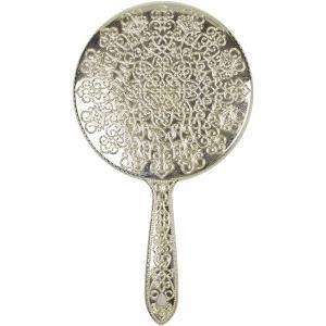 ヤマムラ メッキハンドミラー L ゴールド Y-13 atbijin
