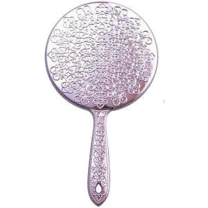 ヤマムラ メッキハンドミラー L ピンク Y-13 atbijin