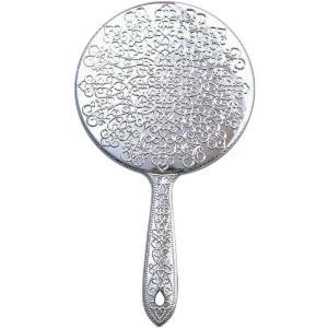 ヤマムラ メッキハンドミラー L シルバー Y-13 atbijin