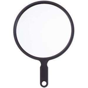 ヤマムラ スーパージャンボ ハンドミラー LL ブラック S-2101 atbijin