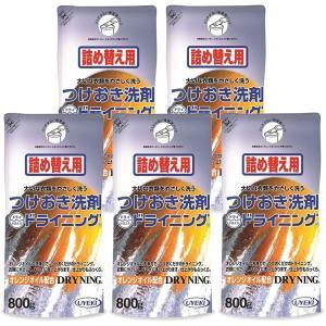 つけおき洗剤 ドライニング ゲルタイプ 800g 詰め替え用 5個セット UEKI ウエキ 送料無料|atcare