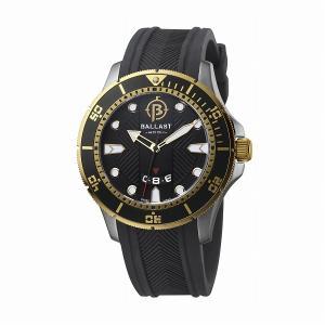 BALLAST バラスト SWISS MADE 200m防水 ダイバー メンズ 腕時計 BL-3114-09|atdigiplus