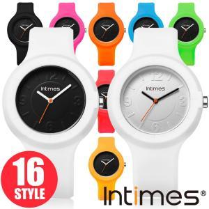 IN TIMES インタイムス 腕時計 着せかえ シリコンウォッチ 日本製ムーブ搭載 軽量 かわいい 40mm レディース メンズ アナログ選べる16|atdigiplus