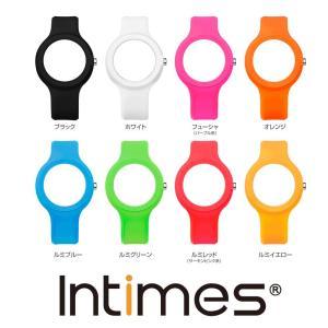 IT092専用 シリコン 替えベルト INTIMES インタイムス 腕時計 メール便 送料無料 選べる8色|atdigiplus