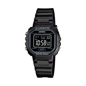 腕時計 CASIO カシオ レディース デジタル チープカシオ LA20WH-1B|atdigiplus