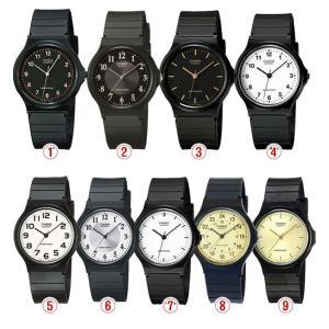 チープカシオ CASIO アナログ カジュアル メンズ/レディース 防水 腕時計 MQ24 SALE品のため返品不可・ラッピング不可・修理保証なし メール便発送