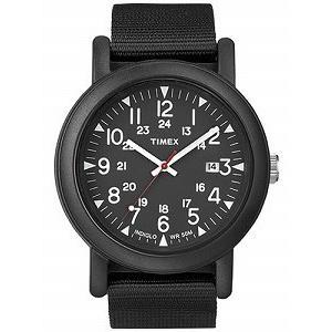 TIMEX タイメックス オーバーサイズキャンパー オールブラック 腕時計 T2N364 箱なし 並行輸入品 ネコポス 代金引換不可|atdigiplus