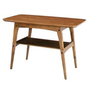 リビングテーブル コーヒーテーブル Sサイズ 75×40cm Tomte ウォールナット 北欧モダン|atease