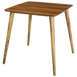 ダイニングテーブル 75×75cm Tomte ウォールナット 北欧モダン|atease