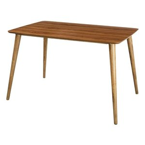 ダイニングテーブル 120×75cm Tomte ウォールナット 北欧モダン atease