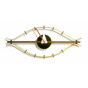 壁掛け時計 ウォールクロック ネルソン アイ クロック ジョージ・ネルソン デザイナーズ リプロダクト ミッドセンチュリー|atease