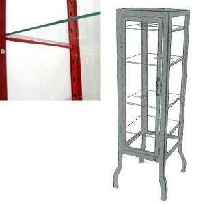 ダルトン SHIRTS CASE 専用ガラス棚板 棚板追加用 Sサイズ・Lサイズ共通|atease