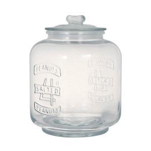 ダルトン ガラスクッキージャー GLASS COOKIE JAR 5L 保存容器 保存瓶 米びつ|atease