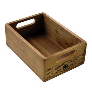 木製収納ボックス ダルトン ウッデン ストッカー ボックス Wooden stocker box アンティークフィニッシュ atease