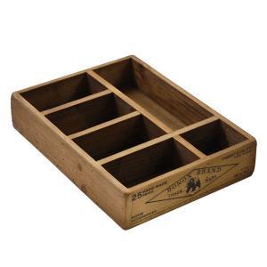 木製収納ボックス 卓上整理箱 ダルトン ウッデン オーガナイザー ボックス Wooden organizer box アンティークフィニッシュ|atease