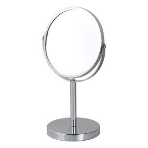 卓上ミラー 鏡 ダルトン ラウンド スタンドミラー G755-903 丸型 拡大鏡 シンプル スタイリッシュ atease