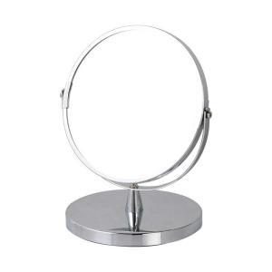 卓上ミラー 鏡 ダルトン ラウンド スタンドミラー G755-905 丸型 拡大鏡 シンプル スタイリッシュ atease