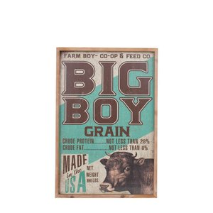 額 ポスター インテリア ダルトン アートフレーム Mサイズ BIG BOY レトロ アンティーク アメリカンヴィンテージ調|atease