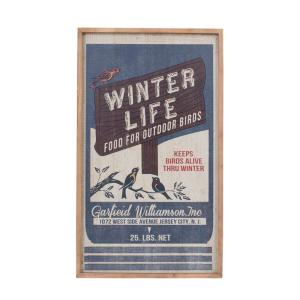 額 ポスター インテリア ダルトン アートフレーム Lサイズ WINTER LIFE レトロ アンティーク アメリカンヴィンテージ調|atease