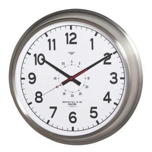 壁掛け時計 ダルトン ウォールクロック ブリストル S-51 直径52cm 大型タイプ シンプル レトロ アメリカンヴィンテージ調|atease