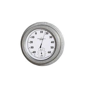 温度計・湿度計 湿温度計 ダルトン サーモ ハイグロメーター ノースロップ GT-22 ガルバナイズド シンプル レトロ アメリカンヴィンテージ調|atease