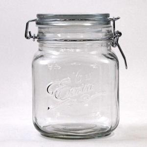 密閉式ガラスジャー 保存容器 ダルトン エアタイト スクエアジャー エリン AIRTIGHT SQUARE JAR Eerin Mサイズ アンティーク調|atease