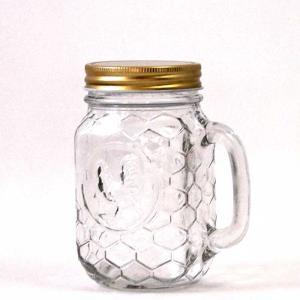 ダルトン メイソンジャー ROOSTER JAR WITH HANDLE ルースタージャー ウィズ ハンドル 400ml|atease