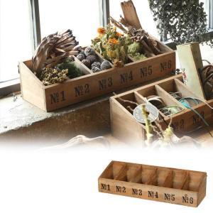 【DULTON WOODEN BOX 6 SEC】 ●サイズ:W510×D150×H120mm ボッ...