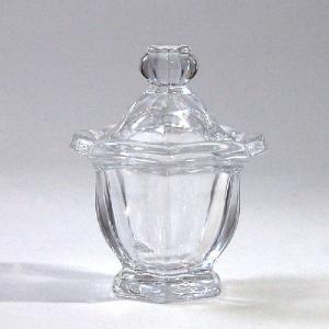 ダルトン ガラス製キャニスター リリーベル CANISTER LILY BELL シュガーポット スプーン用溝付|atease