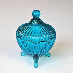 アクセサリー収納 アクセサリーケース ダルトン JEWELRY POT ALASTIA ジュエリーポット ガラス製 小物入れ レトロ アンティーク風|atease