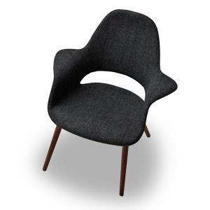 オーガニックチェア Organic Chair イームズ&サーリネン ウォールナット脚 リプロダクト ミッドセンチュリー 北欧モダン|atease