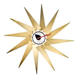 壁掛け時計 ウォールクロック ネルソン タービン クロック ジョージ・ネルソン デザイナーズ リプロダクト ミッドセンチュリー|atease