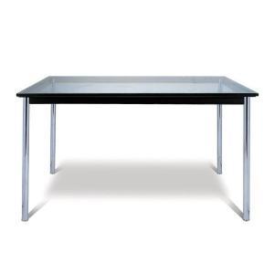 ●サイズ:W1200×D800×H700mm ●素材:天板/15mm強化ガラス フレーム/スチール(...