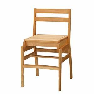 木製学習チェア ダックNo.6 (板座)|atease