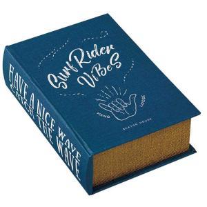 ブック型 収納ボックス 本型 小物入れ ブックボックス Seaton GD-2914 アンティーク洋書風|atease