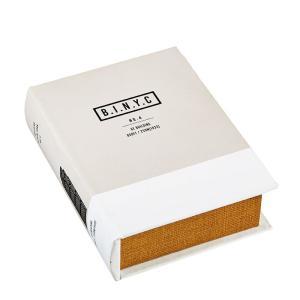 ブック型 収納ボックス 本型 小物入れ ブックボックス Landmarks GEビルディング GD-3232 アンティーク洋書風|atease