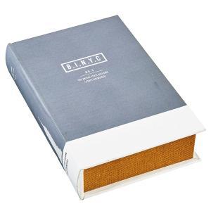 ブック型 収納ボックス 本型 小物入れ ブックボックス Landmarks エンパイアステートビル GD-3233 アンティーク洋書風|atease