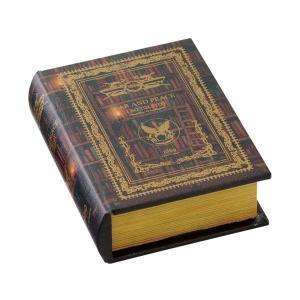 ブック型収納ボックス アンティーク洋書風 GD-5643|atease