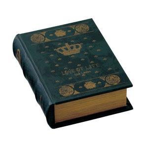 ブック型収納ボックス アンティーク洋書風 GD-5644|atease