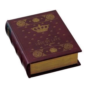 ブック型収納ボックス アンティーク洋書風 GD-5647 atease