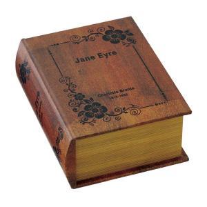 ブック型収納ボックス アンティーク洋書風 GD-5649 atease