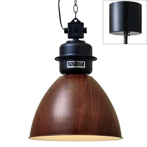 天井照明 ペンダントライト Normanton 木調塗装 電球無しタイプ インダストリアル レトロ 北欧モダン ヴィンテージ調 LED電球対応|atease