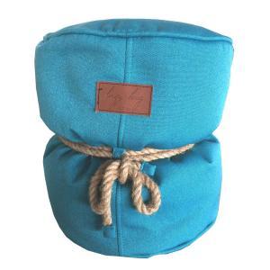 Lazy Bag ビーズクッションスツール 301-BB (カバーリング/ブルー)|atease