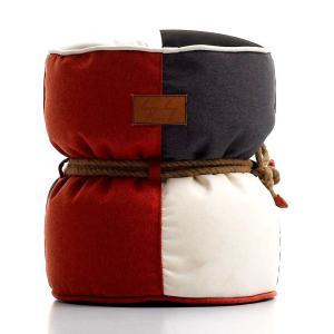 Lazy Bag ビーズクッションスツール 301-BB (カバーリング/ミックスカラー)|atease