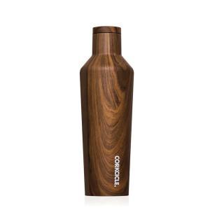 保冷 保温 ボトル マグボトル 水筒 ステンレス製 直飲みタイプ コークシクル キャンティーン 16oz 470ml 木目調 ウォールナットデザイン atease