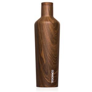 保冷 保温 ボトル マグボトル 水筒 ステンレス製 直飲みタイプ コークシクル キャンティーン 25oz 750ml 木目調 ウォールナットデザイン atease