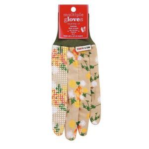 ガーデニング グローブ 手袋 SPICE マルチグローブ フェミニンローズ フリーサイズ ガーデングローブ 作業手袋 園芸 DIY atease