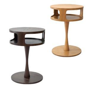 ラウンドサイドテーブル CORON|atease