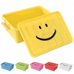 収納ケース 収納ボックス おもちゃ箱 スパイス スマイルボックス Sサイズ SFPT1510|atease