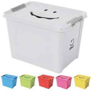 収納ケース 収納ボックス おもちゃ箱 スパイス スマイルボックス Lサイズ SFPT1530|atease
